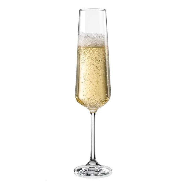 3f8f4d5e3115b Sandra 200ml pohár na šampanské Bohemia Crystal | ePoháre.sk
