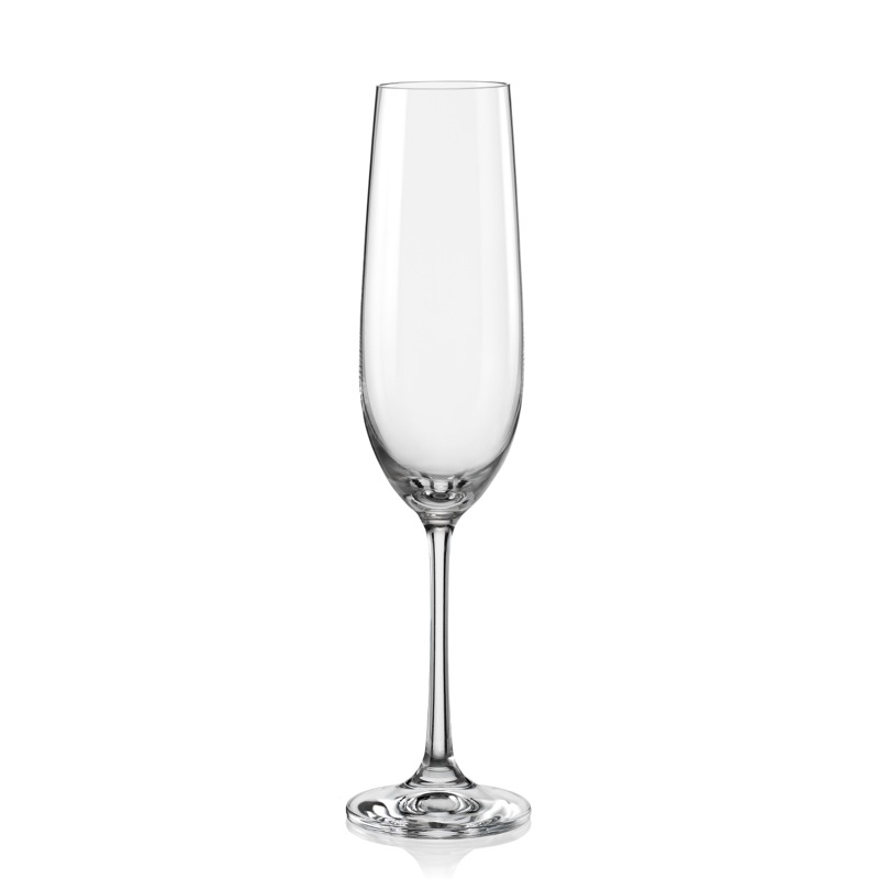 52c0a351246a0 Viola 190ml pohár na šampanské Bohemia Crystal | ePoháre.sk
