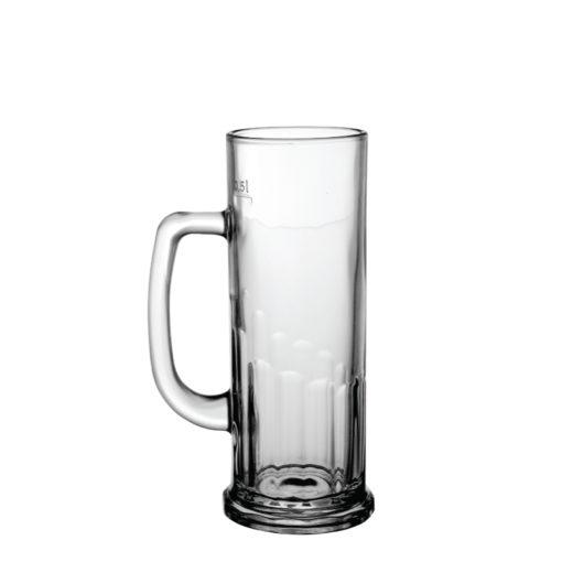 europa-05L krígeľ, pohár na pivo, hrastnik 1860
