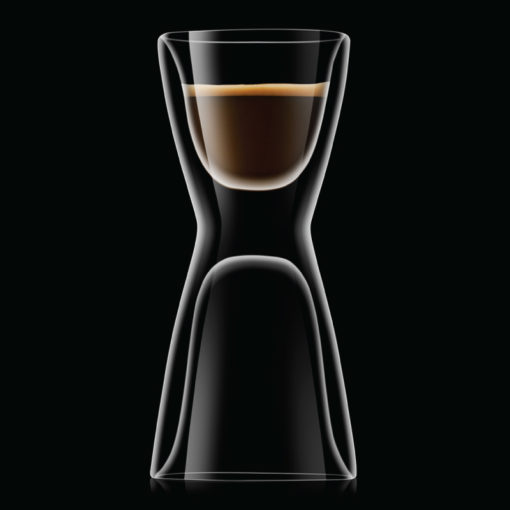 Unico thermic glass espresso water