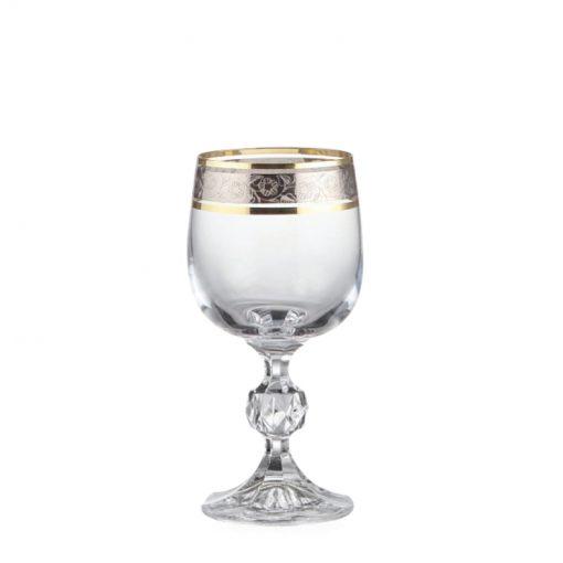 40149-190-dekokr-43249_claudia_190ml_pohar-na-vino-dekorovany-zlato-platina_gastroglass_epohare
