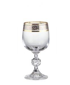 40149-230-dekokr-43249_claudia_230ml_pohar-na-cervene-vino-dekorovany-zlato-platina_gastroglass_epohare